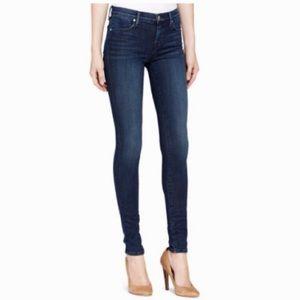 J Brand Mid Rise Indigo Skinny Jeans
